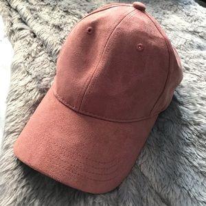Forever21 suede baseball cap